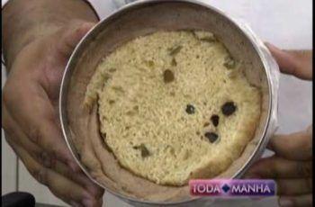 06-12-2016 – RECEITA: TORTA DE PANETONE – TODA MANHÃ