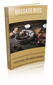 Livro de receitas do Vivendo de Brigadeiros - várias receitas de brigadeiros gourmet