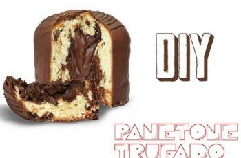 DIY – Panetone Trufado #Manual Chique