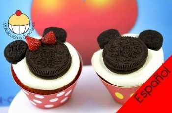 ¡Cómo Hacer Cupcakes de Mickey y Minnie Mouse! Un Tutorial Práctico de Cupcake Addiction