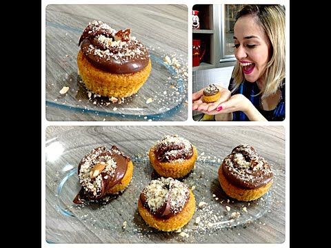 Cup Cake de Cenoura Light (Fit) - Tutorial - Priscila Guedes 1 [youtube https://www.youtube.com/watch?v=3xQA4814KDE&w=580&h=385] Vídeo do Canal Priscila Guedes, publicado em 2014-09-21 19:55:02 e com 5136 views Caso qu Vivendo de Brigadeiro