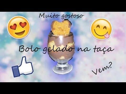 Bolo na taça gelado 4 Vídeo do Canal Se for com Amor no Youtube, publicado em 2016-09-29 10:55:07 e com 71 views Vivendo de Brigadeiro