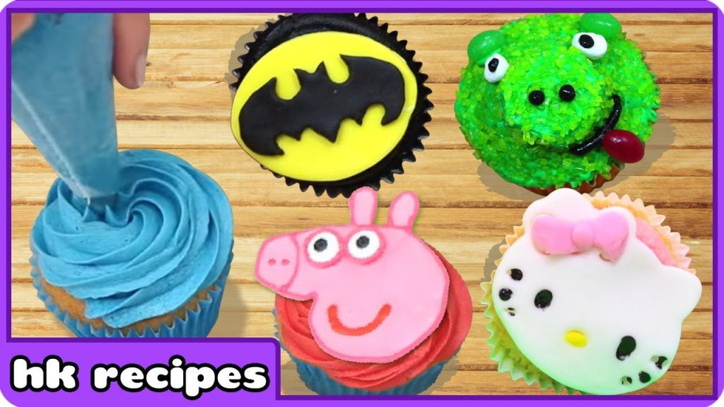 Cupcake Mania | Cupcake Decorating Ideas And Techniques By HooplaKidz Recipes 2 Vídeo do Canal HooplaKidz Recipes - Cakes, Cupcakes and More no Youtube, publicado em 2016-07-23 08:31:59 e com 2310138 views Vivendo de Brigadeiro
