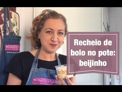 Recheio de bolo no pote de beijinho de coco 8 Vídeo do Canal Partiu Plano B no Youtube, publicado em 2016-10-13 20:31:19 e com 4115 views Vivendo de Brigadeiro