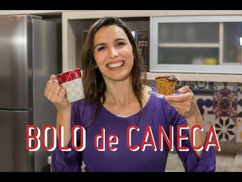 BOLO de CANECA: receita saudável e dicas de transporte e armazenamento 4 Vídeo do Canal Cozinha Bach no Youtube, publicado em 2016-10-20 10:30:00 e com 29177 views Vivendo de Brigadeiro