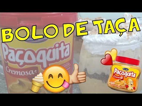 Bolo de Taça com Paçoquita Cremosa - omagrelinho gourmet 1 Vídeo do Canal omagrelinho no Youtube, publicado em 2016-09-12 11:00:02 e com 172 views Vivendo de Brigadeiro