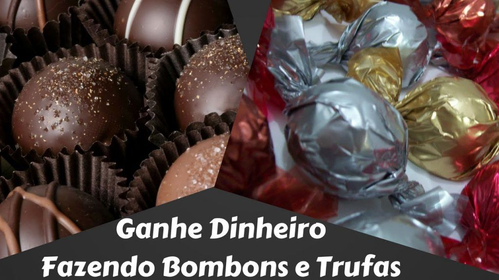 Bombons Recheados - Ganhe Dinheiro Fazendo Bombons Recheados e Trufas de Chocolate 4 Vídeo do Canal Recreio Marketing no Youtube, publicado em 2016-09-24 10:22:26 e com 139 views Vivendo de Brigadeiro