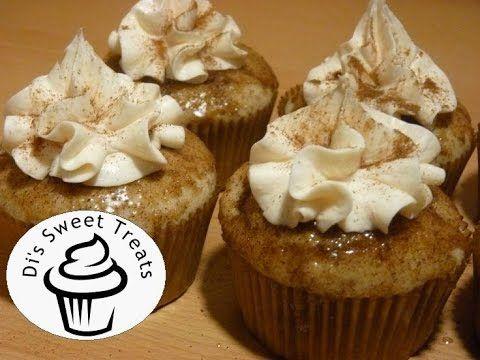 Churro Cupcakes with Cinnamon Cream Cheese Frosting- Di's Sweet Treats 2 Vídeo do Canal Di's Sweet Treats no Youtube, publicado em 2014-05-04 22:31:06 e com 3711 views Vivendo de Brigadeiro