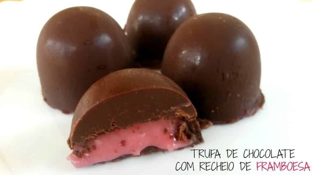 Trufa de Chocolate com recheio de Framboesa 2 Vídeo do Canal Rúbia Carolina no Youtube, publicado em 2016-11-07 15:00:04 e com 356 views Vivendo de Brigadeiro
