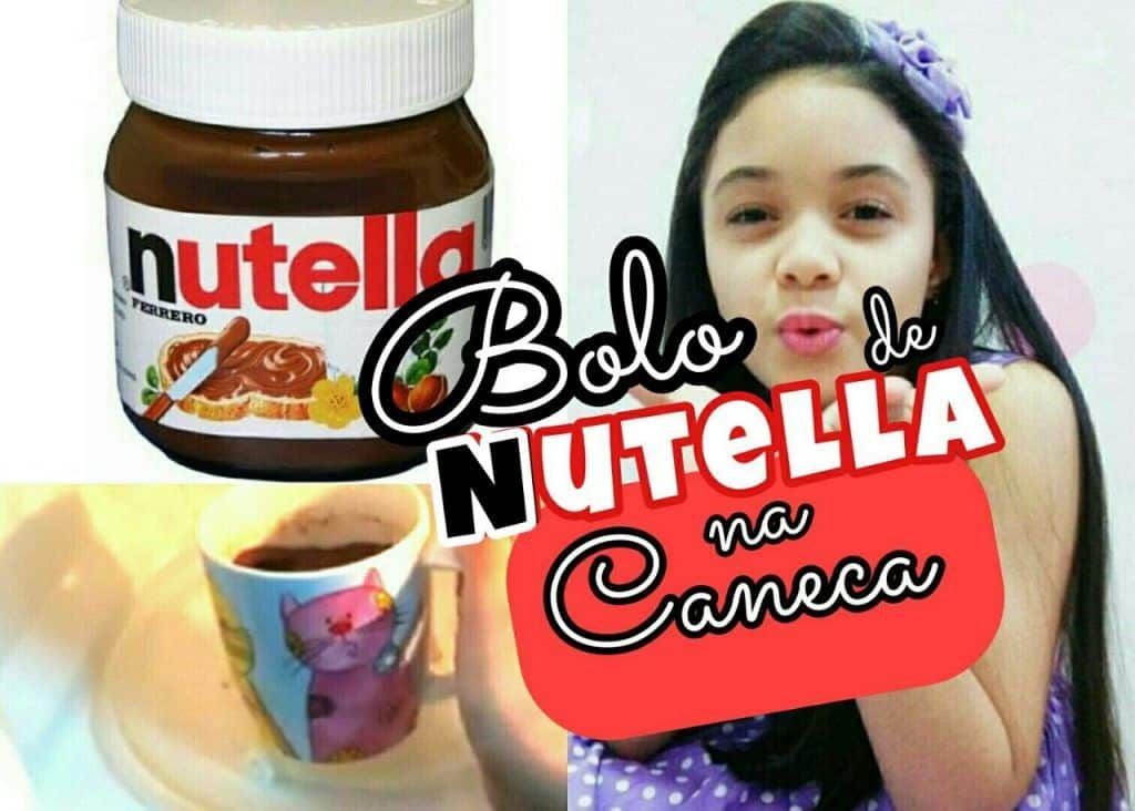 Bolo de Nutella na Caneca 2 Vídeo do Canal Blog da Clara no Youtube, publicado em 2016-04-08 19:01:07 e com 807 views Vivendo de Brigadeiro