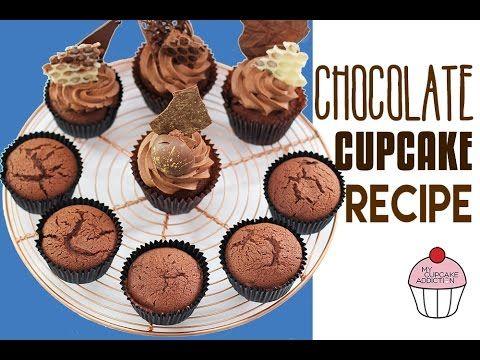 CHOCOLATE CUPCAKE RECIPE! The BEST Chocolate Cupcake Recipe EVER   Elise Strachan 3 Vídeo do Canal MyCupcakeAddiction no Youtube, publicado em 2015-12-11 23:00:00 e com 366335 views Vivendo de Brigadeiro