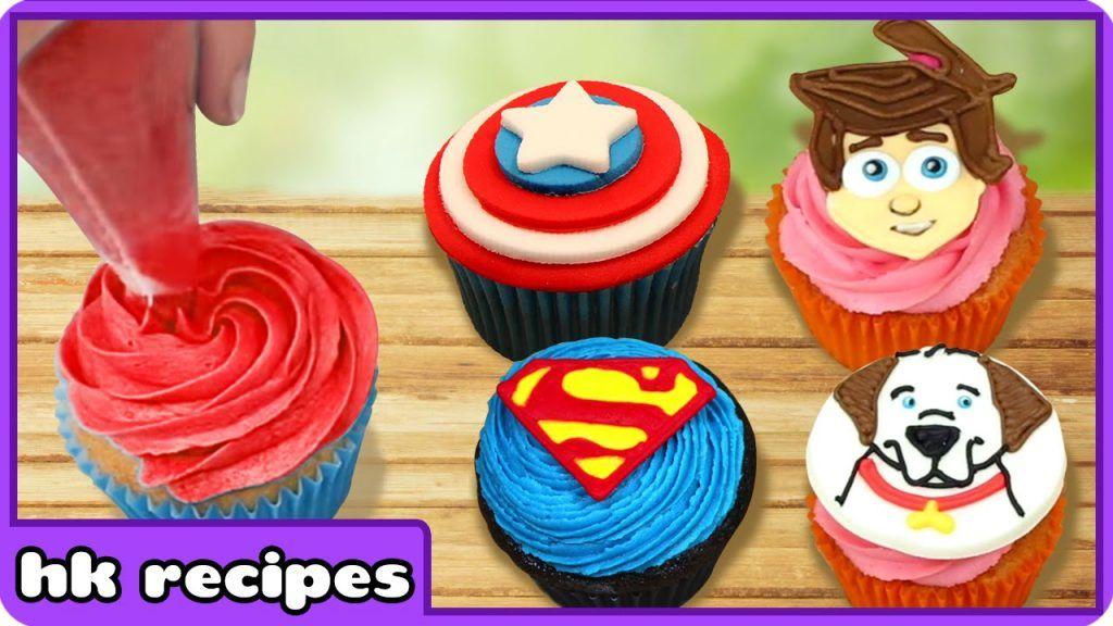 Cupcake Mania | Cupcake Decorating Ideas And Techniques | Part 2 | HooplaKidz Recipes 1 Vídeo do Canal HooplaKidz Recipes - Cakes, Cupcakes and More no Youtube, publicado em 2016-08-19 16:34:39 e com 1101849 views Vivendo de Brigadeiro