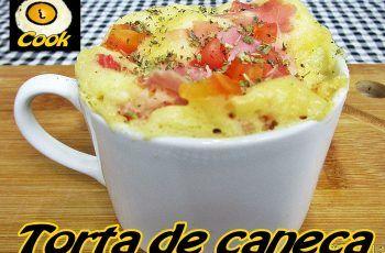 Torta de caneca no microondas (apenas 3 minutos) Cueca Cook # 116