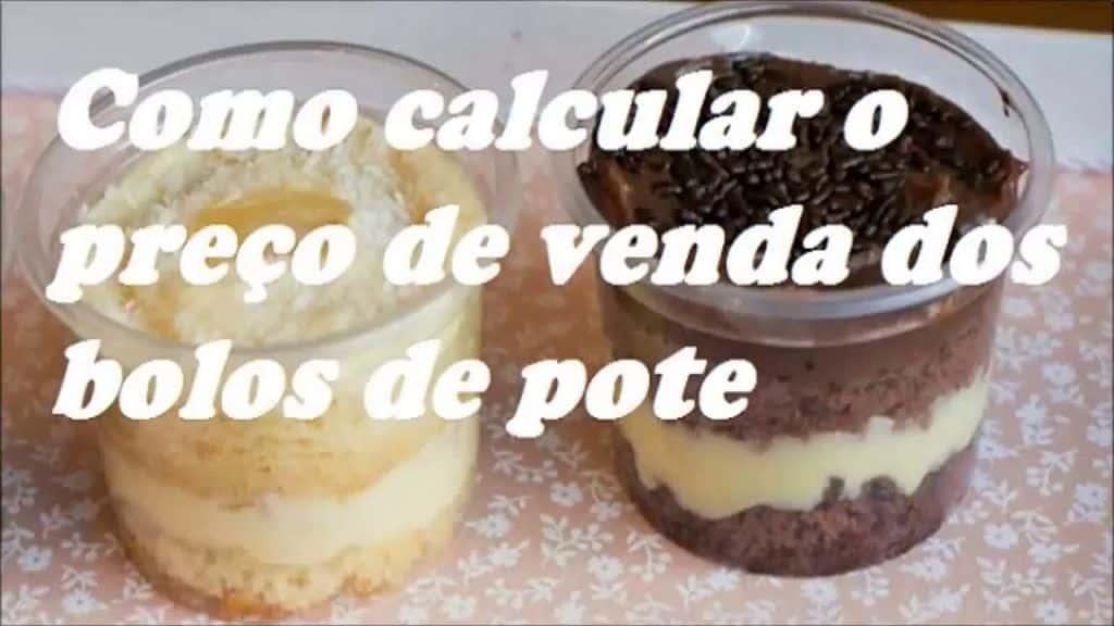 Calcular preço de bolo no pote 2 Vídeo do Canal Curso de doces Para vender no Youtube, publicado em 2016-04-13 13:42:23 e com 35877 views Vivendo de Brigadeiro