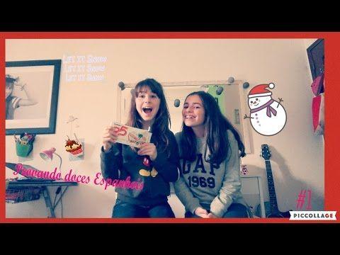 Provando doces Espanhois  #1 /Serie especial Natal 5 Vídeo do Canal Dy Fashion no Youtube, publicado em 2016-12-10 09:47:08 e com 354 views Vivendo de Brigadeiro