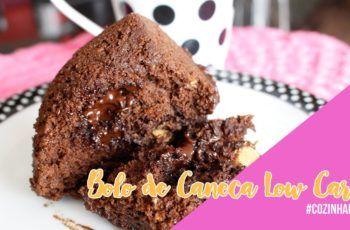Bolo de Caneca Low Carb   #cozinhafit