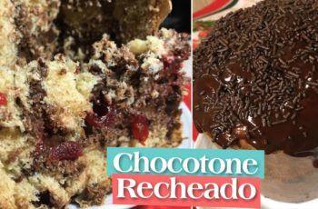 Chocotone Recheado – Turbine seu Chocotone ou Panetone