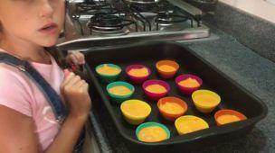 Cupcake de cenoura (sem glúten)
