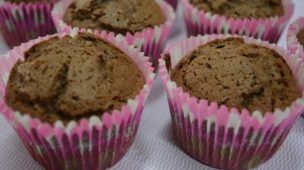 Cupcake de chocolate para iniciantes