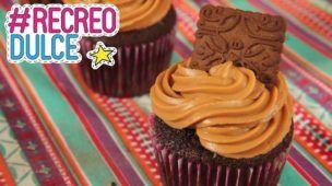 Cupcakes de Chocotorta   Recreo Dulce