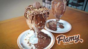 Provamos a taça de sorvete da FLAMY