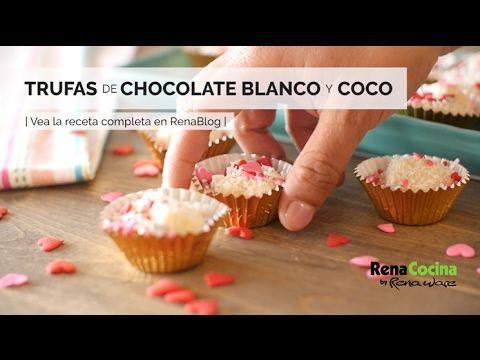 Trufas de chocolate blanco y coco 1 Tem vontade de ver um pouco mais destas receitas que estão publicadas, acesse agora Vivendo de Brigadeiro