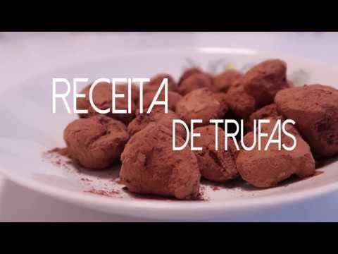 Trufas de chocolate e café 3 Quer assistir um pouco mais das receitas já disponibilizadas,  visite Vivendo de Brigadeiro