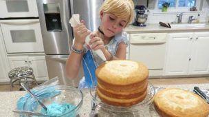 Chef Frozen Elsa How To Make Disney Princess Giant Cupcake Dress Cooking Cake Dress Superh