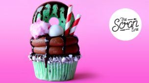CHOC MINT FREAKSHAKE CUPCAKES ft. Yolanda Gampp from How To Cake It! - The Scran Line