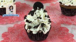 Cupcakes de chocolate facil y rapido