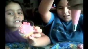 Minnie cupcake tutorial