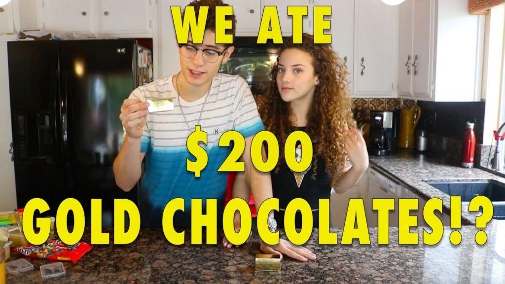 WE ATE $200 CHOCOLATES!!! (can you eat that challenge) 1 Tem vontade de saber um pouco mais das receitas que estão publicadas,  acesse agora Vivendo de Brigadeiro
