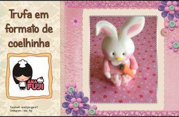 Aprenda a fazer uma coelha na trufa em pasta americana – ideia para Páscoa