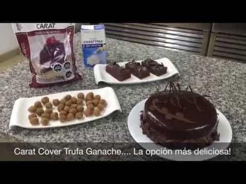Carat Cover Trufa Ganache Puratos con Adrian Muñoz 3 Quer saber um pouco mais das receitas já disponibilizadas,  visite Vivendo de Brigadeiro