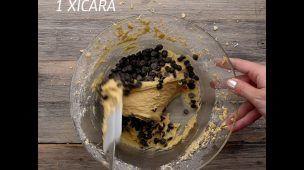 Cupcake com gotas de chocolate #VixHummm