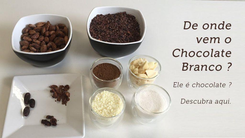 De onde vem o Chocolate Branco 4 Quer saber + das receitas que estão postadas, visite Vivendo de Brigadeiro