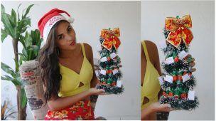 DIY: Árvore de natal de doces   Por: Emilly Vasconcelos