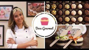 Doce Gourmet -Como Fazer Receitas Brigadeiro Gourmet, Palha Italiana, Bolo No Pote e Brownie