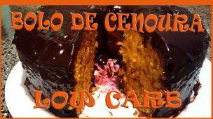 Receita fit: Bolo de cenoura Low Carb ( baixo carboidrato ) ft Cris Damiani