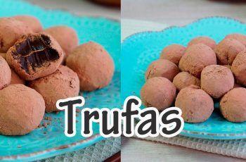 TRUFA DE CHOCOLATE I Receitas e Temperos