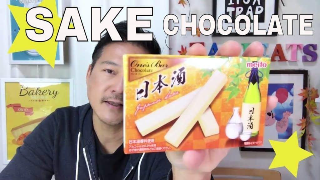 Trying Sake-Flavored Chocolate (Japanese Candy) 1 Quer aprender bem mais das receitas que estão publicadas, vivendo de brigadeiro Vivendo de Brigadeiro