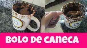 BOLO DE CANECA + CALDA DE CHOCOLATE #10