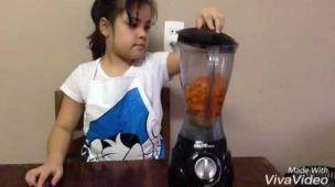 Cupcake de cenoura da Yasmin