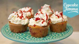 Eton Mess Cupcakes AND How To Make Meringues! | Cupcake Jemma