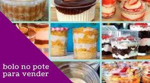 receita de bolo no pote gourmet para vender