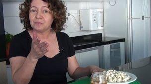 Receitas da Tina - Pipoca doce com leite ninho e quentão