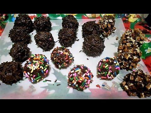 Trufas de Chocolate Y Galletas Marías 3 Gostaria de conhecer mais destas receitas que estão postadas, clique aqui Vivendo de Brigadeiro