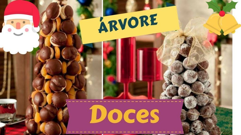 ÁRVORE DE DOCES -ESPECIAL NATAL!