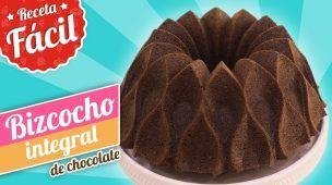 BIZCOCHO INTEGRAL DE CHOCOLATE | Receta fácil | Quiero Cupcakes!