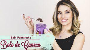 BOLO DE CANECA Dukan | Dieta Low Carb | Fitness | Babi Palmirinha